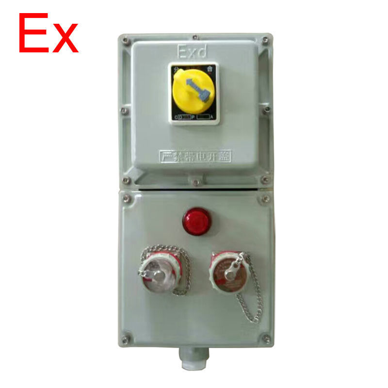 380V / 220V Explosion Proof Circuit Breaker , Class 1 Div 2 Disconnect Switch