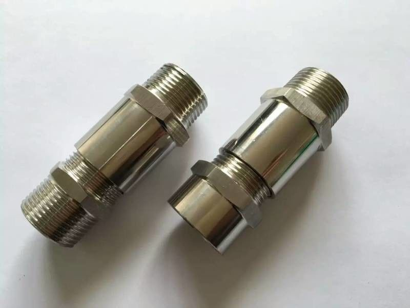"G3 /4"" IP54  Explosion Proof Nipple Connector For Electric Cable Conduit"